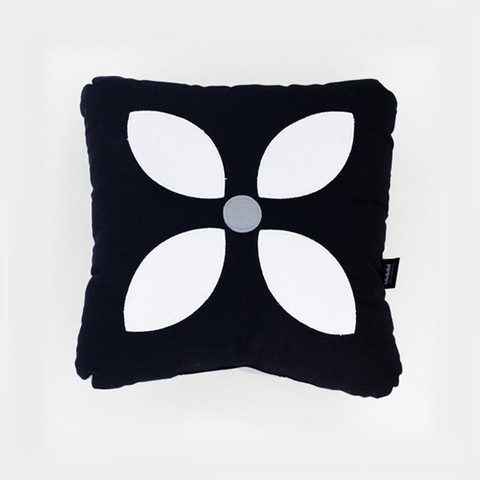Hydra Flower Cushion by Paparajote Factory eclectic-decorative-pillows