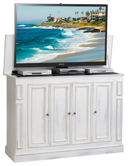 TV Lift Cabinets Made in the USA beach-style