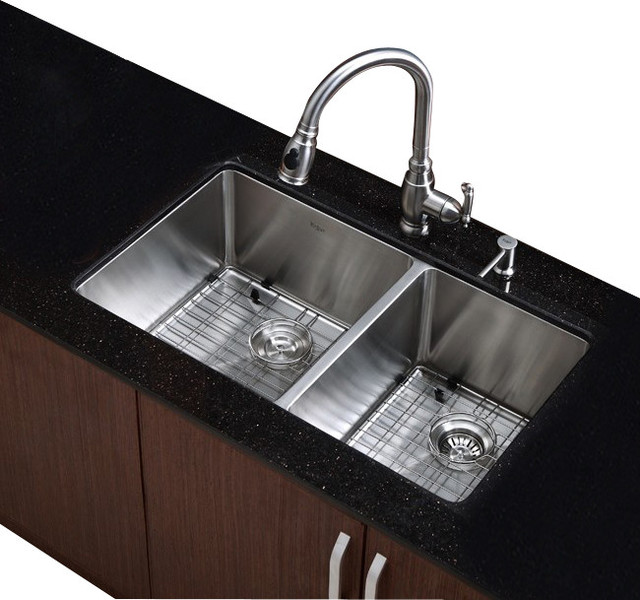 33 in undermount 60 40 bowl stainless steel