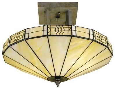 Umbrella Semi Flush Mount modern-ceiling-lighting