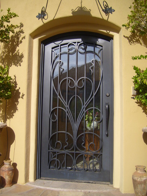 Iron and Wood Doors and Gates traditional-windows-and-doors