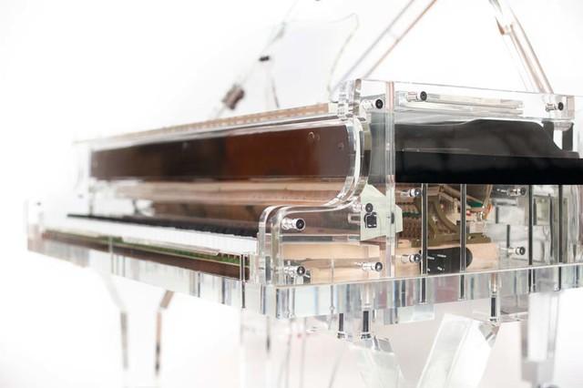 Transparent Grand Piano Design contemporary
