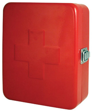 Kikkerland First Aid Box modern accessories and decor