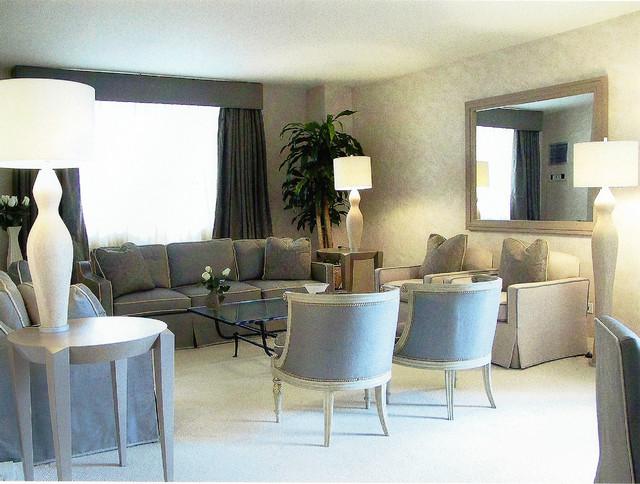 French Art Deco Apartment - Modern - Living Room
