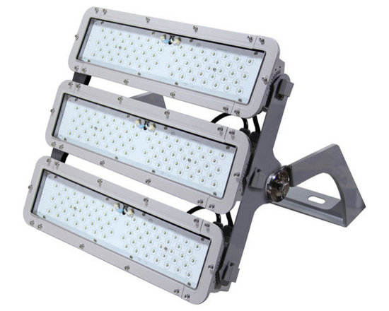 MaxLite - MaxLite ELLF405UW50 MaxLite StaxMAX LED Flood Lights - StaxMAX LED Flood Lights are ideal for car dealerships, youth sports parks, golf driving ranges, fa�ades and general area illumination. StaxMAX is a unique and flexible system, comprised of self-contained modular elements, representing a range both lumen output and optics capabilities. The StaxMAX can be specified in one-, two-, or three-135-watt module configurations where each module can have one of the three available optical distributions (narrow, medium or wide beam.)