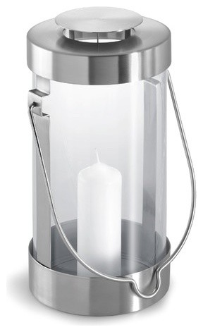 Lumbra Lantern with Candle modern outdoor lighting