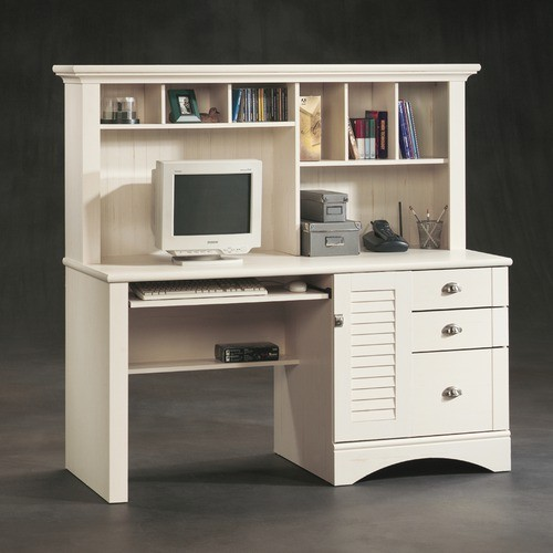 """Harbor View 62.25"""" Computer Desk with Hutch modern-desks-and-hutches"""