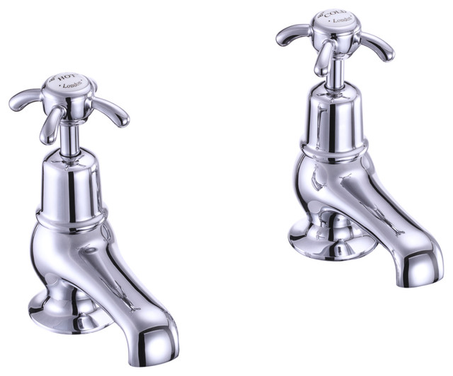 Burlington Anglesey Basin Taps traditional-bathroom-faucets-and-showerheads