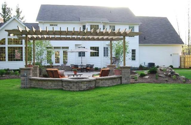 Pavilions, Pergolas and Arbors contemporary
