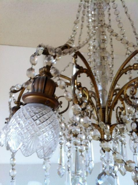 Lighting salvage...French chandelier - Traditional - Windows ...