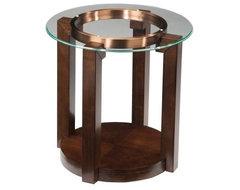 Standard Furniture Coronado Round End Table modern-bar-tables