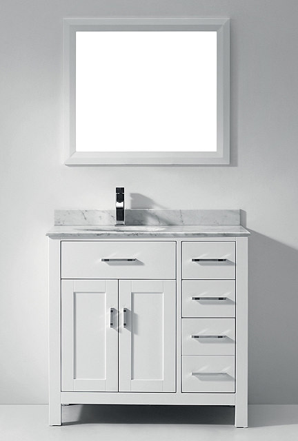 White Bathroom Vanities Bathroom Vanities And Sink Consoles Miami By Vanities For Bathrooms