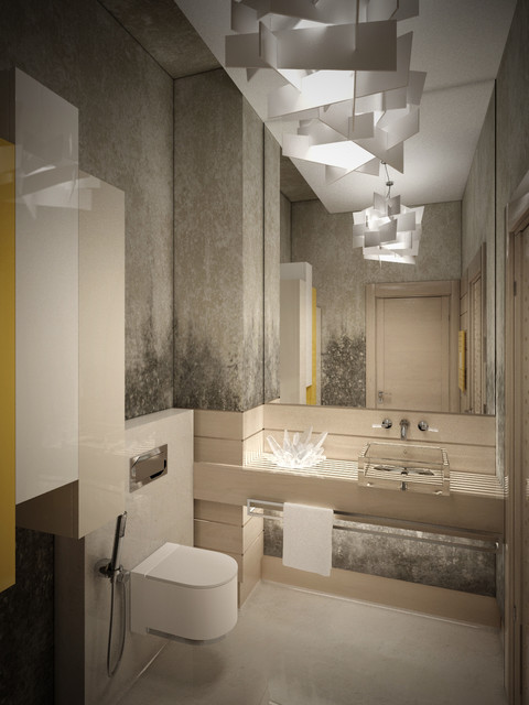 NEMCHINOVKA Bathroom contemporary-rendering