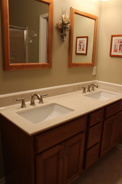 Master Bathroom Update Brunswick Oh Medallion Cabinetry Traditional Bathroom Mirrors