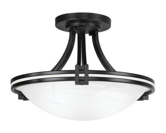"Possini Euro Design 17"" Wide Ceiling Light Fixture -"