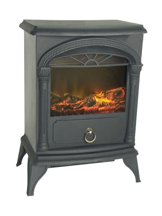 """Vernon Electric Fireplace Stove - 16.35"""" L"""