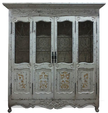 Armoires and Bookcases traditional-storage-units-and-cabinets