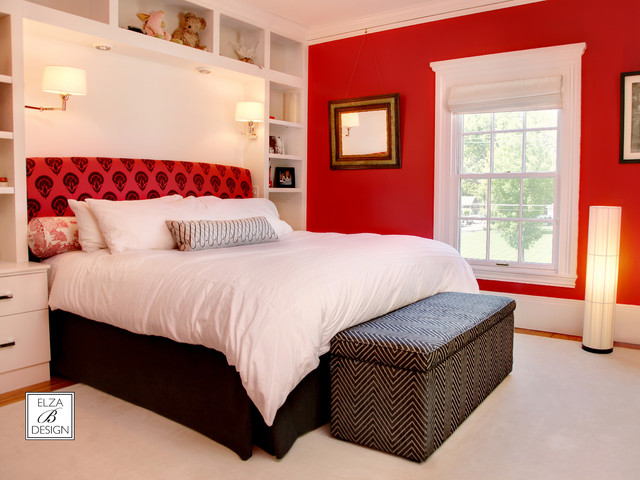 Transitional Master Bedroom Eclectic Bedroom