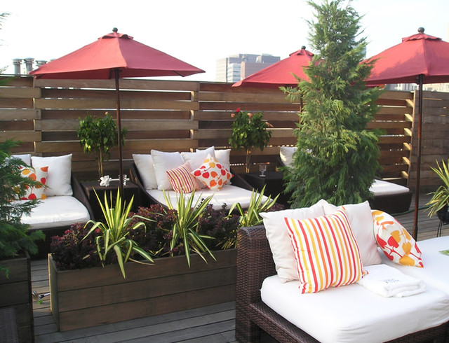The Rooftop at the Strand Hotel contemporary-patio