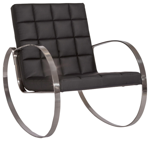 ... Design Black Rocking Chair - Modern - Rocking Chairs - by Great Deal