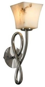 LumenAria Capellini Bowl Wall Sconce by Justice Design Group contemporary-wall-sconces