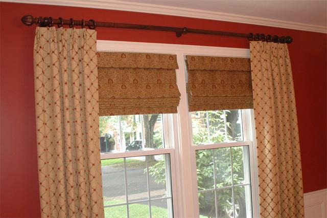 Custom Window Treatments traditional-window-treatments