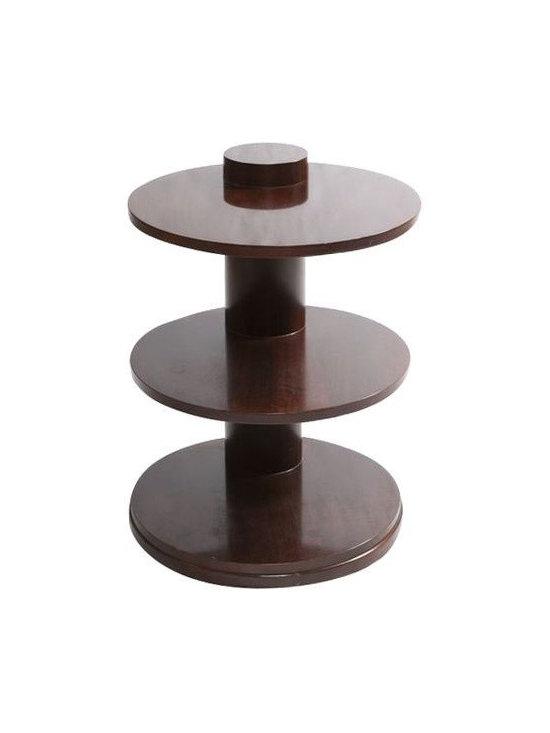 SOLD OUT!  Ralph Lauren Side Table - $2,500 Est. Retail - $750 on Chairish.com -