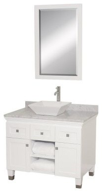 Wyndham Collection Premiere 36-in. Espresso Single Bathroom Vanity Set modern-bathroom-vanities-and-sink-consoles