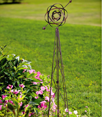 Traditional Garden Sculptures by White Flower Farm