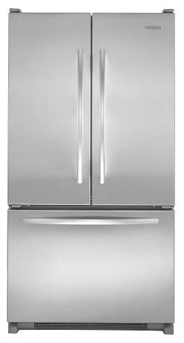 KitchenAid French-Door Refrigerator w/ Interior Water Dispenser contemporary refrigerators and freezers