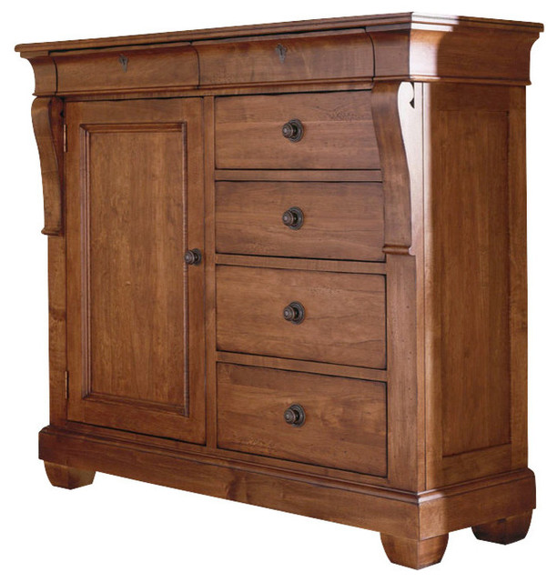 Kincaid Tuscano Solid Wood Door Chest Traditional Furniture By Bedroom Furniture Discounts