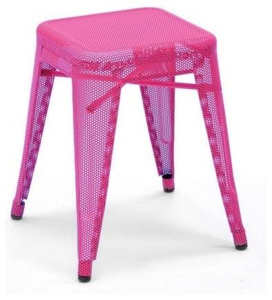Tolix Marais Stool, Perforated contemporary-bar-stools-and-counter-stools