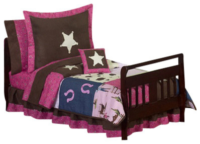 Western Cowgirl Toddler Bedding Set contemporary-kids-bedding