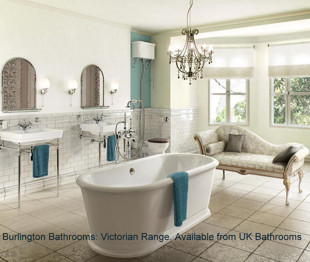 Traditional rendering for Bathroom ideas london