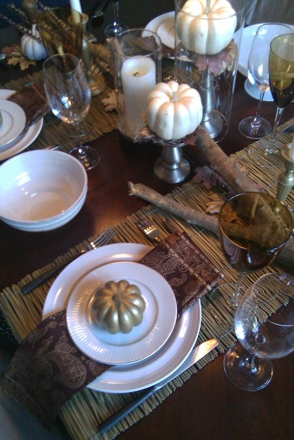 Fall - Thanksgiving Tablescape FOCAL POINT
