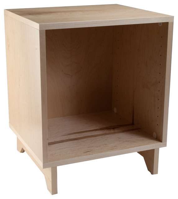Naked Cabinets - Cubby storage-and-organization