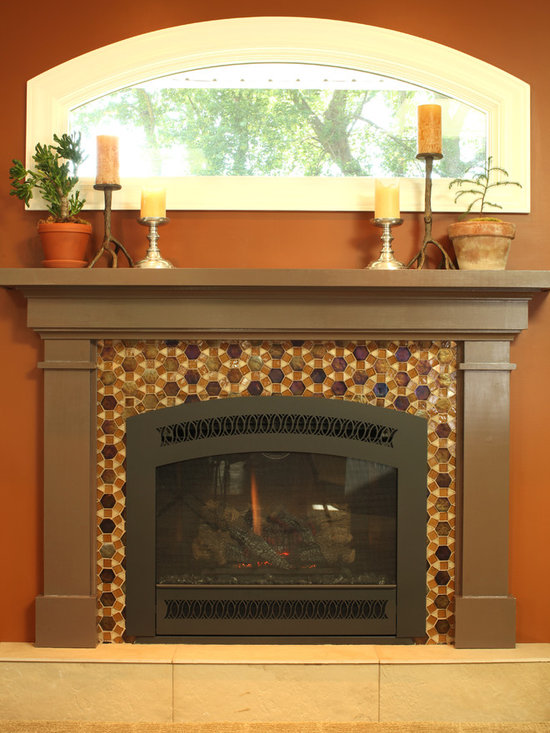 Add a Fireplace - New Fireplace addition to Great Room remodel