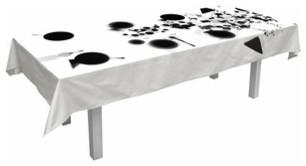 Droog | Tableau Tablecloth, 8 Person modern-tablecloths