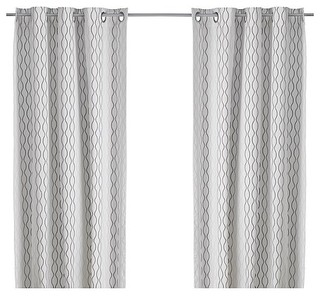 Henny Rand Pair Of Curtains Scandinavian Curtains By