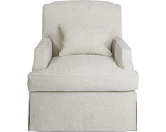 The Snowden Swivel by Windsor Smith Home traditional-accent-chairs