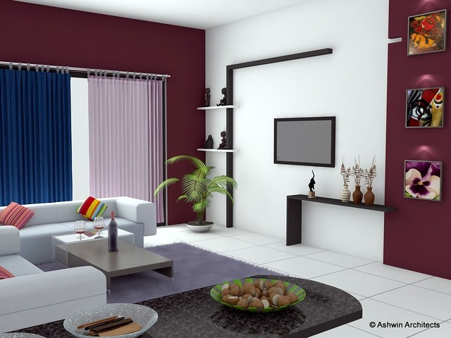 Sandhya 39 S Bangalore Apartment Interior Designs Contemporary Rendering Other Metro By