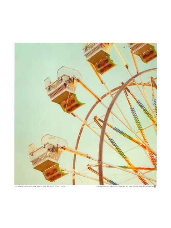 """""""Big Wheel Detail"""" by Mandy Lynne -"""
