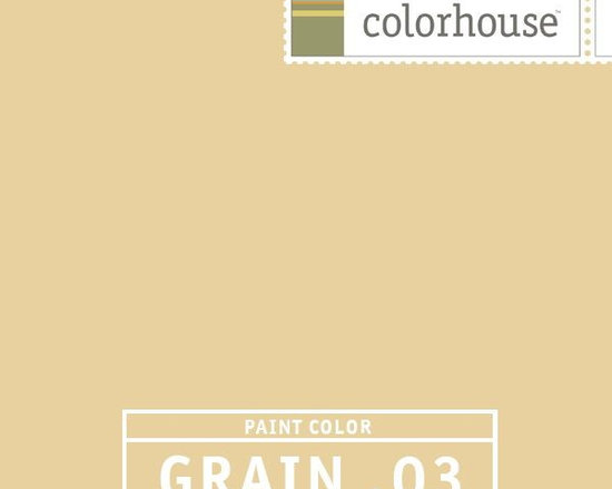 Colorhouse GRAIN .03 - Colorhouse GRAIN .03: A rich GRAIN, harmonizes nicely with the CLAY family, good overall base in a larger space. Great for entry ways, living rooms and great rooms. Creates a warm gathering spot. Good ceiling color to harmonize with CLAY or LEAF colors.