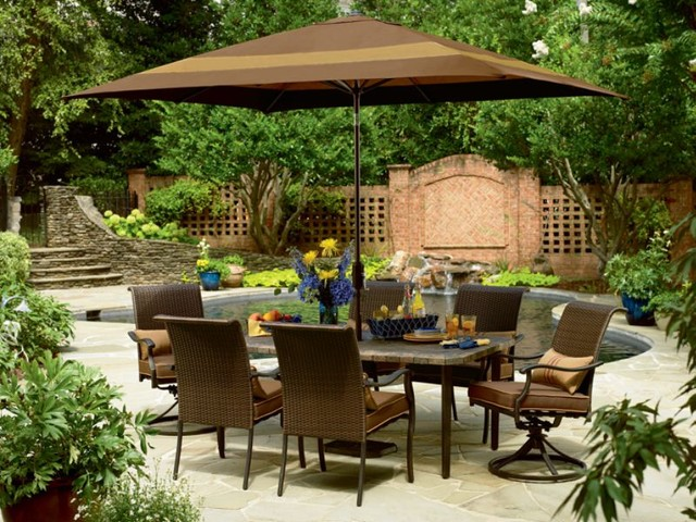 Country Living Grant Park 7 Pc Dining Set Modern Outdoor Dining Sets b
