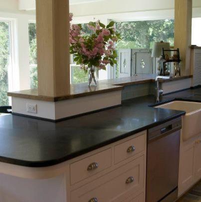 Soapstone Versatility Traditional Kitchen Countertops