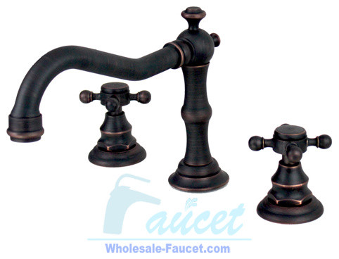 Perfect  Eva TwoHandle Lavatory Faucet In Oil Rubbed Bronze  View Larger