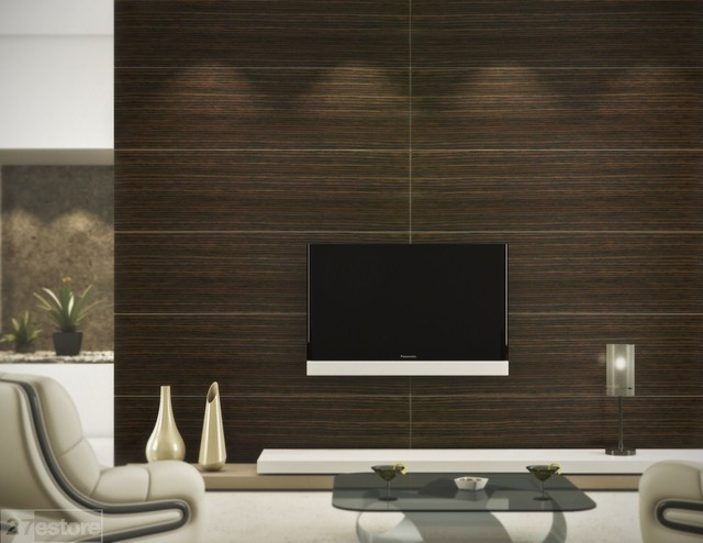 Oak wall panel modern wall panels other metro by dayoris group - Contemporary wall panels interior ...