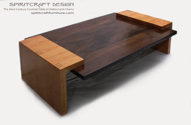 The Mod Century Cocktail Table Modern Coffee Tables Chicago By