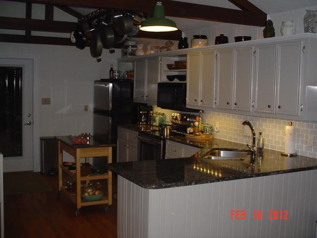 Cabin Kitchen kitchen