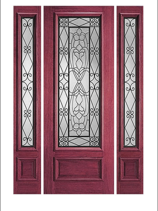 IR Iron Insulated Entry Doors Model  # -